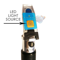 ITC Refractometer with LED Light